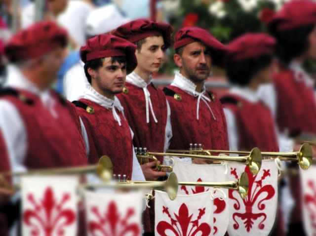 Palio Trumpeters