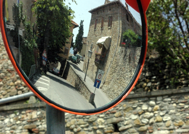 Anghiari Street Scene