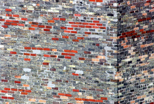 Red And Grey Brick