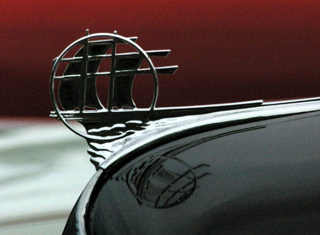 1935 Plymouth Hood Ornament