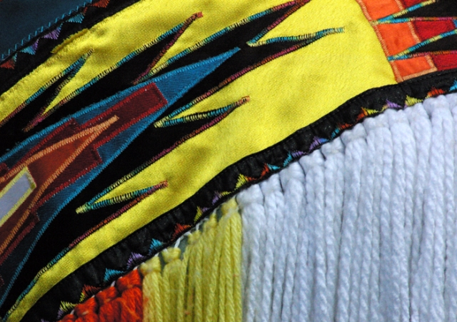 Colourful Costume Detail