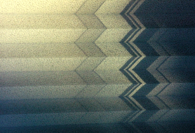 Patterned window shade