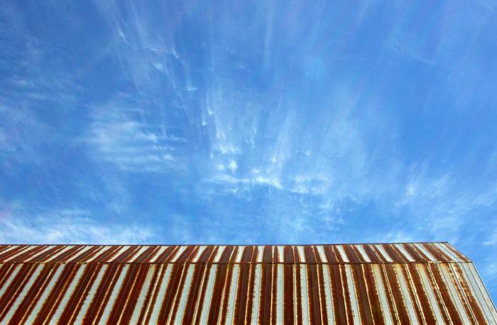 Barn Roof & Sky