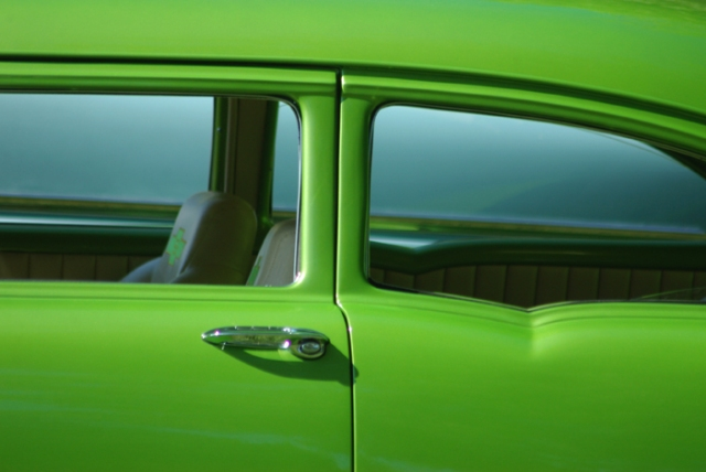 Lime Green Chevy