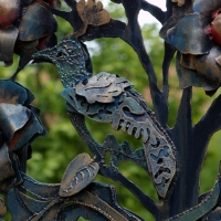 Tir na nOg Gate Detail