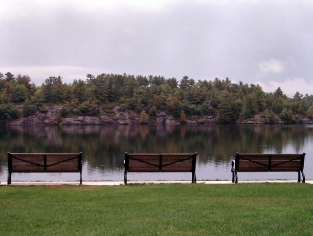 Gull Lake Benches