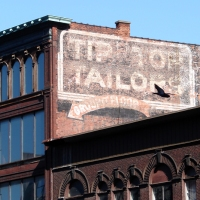 Tip Top Ghost Sign