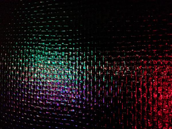 Lights Through Glass