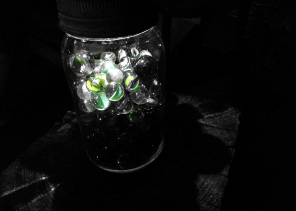 Marbles in a Jar