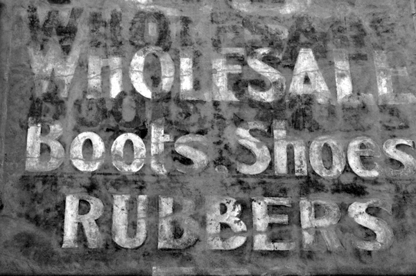 Footware Ghost Sign
