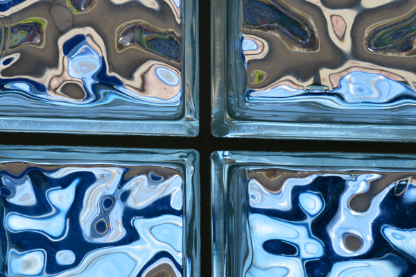 Glass Block Abstract