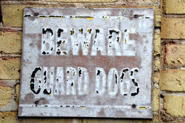 Beware Guard Dogs