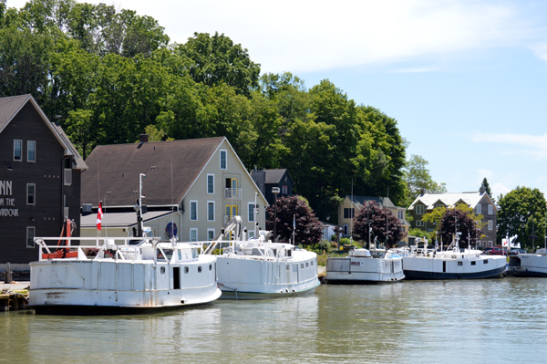 Harbour at Port Stanley