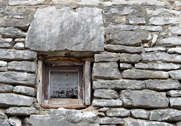 Stone Wall Window
