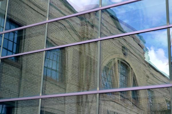 Coliseum Reflection