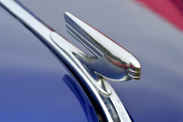 Atop a 37 Chevy Coupe